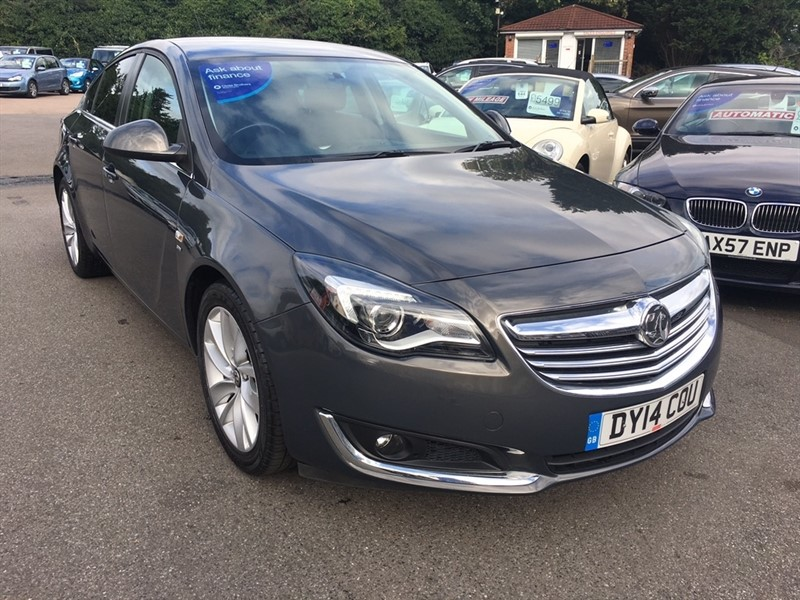 used Vauxhall Insignia i Turbo SRi 5dr (start/stop) in rochester-kent