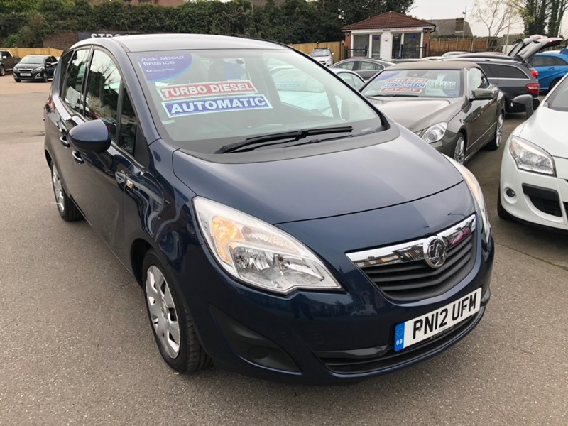used Vauxhall Meriva CDTi 16v Exclusiv 5dr (a/c) in rochester-kent
