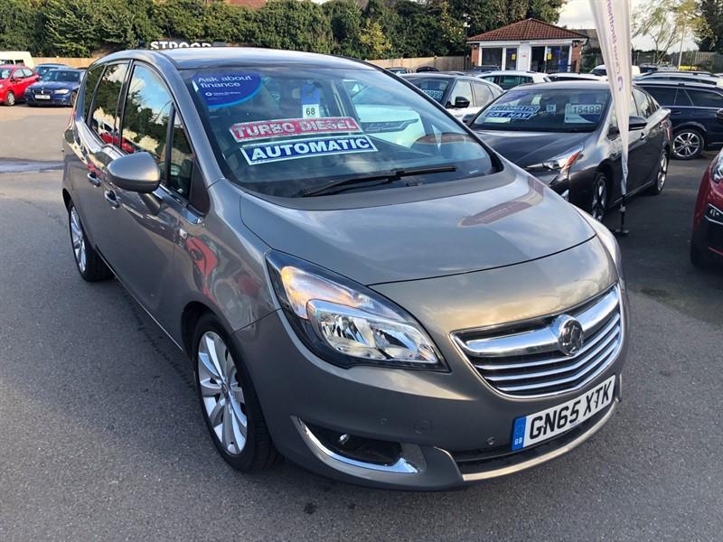 used Vauxhall Meriva SE in rochester-kent
