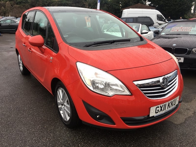 used Vauxhall Meriva i 16v SE 5dr (a/c) in rochester-kent