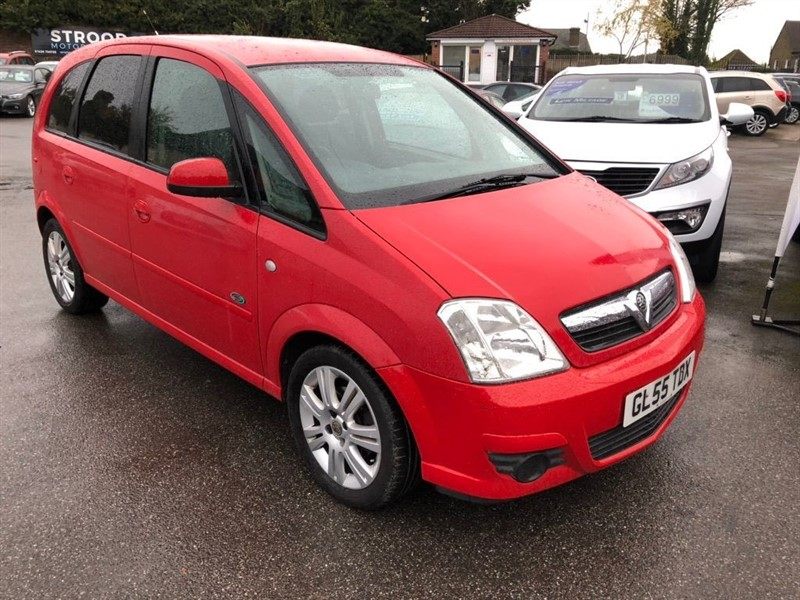 used Vauxhall Meriva i 16v Active 5dr (a/c) in rochester-kent