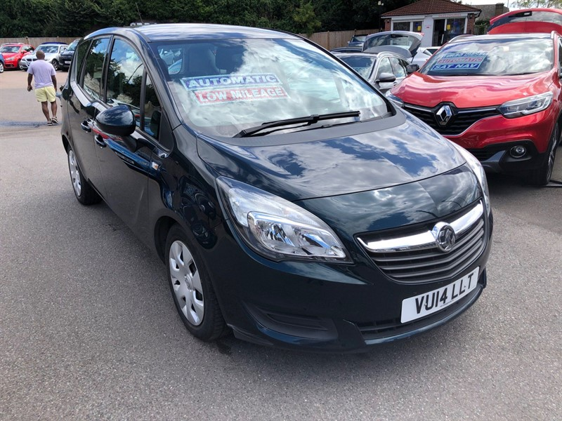 used Vauxhall Meriva 16v Exclusiv (a/c) in rochester-kent