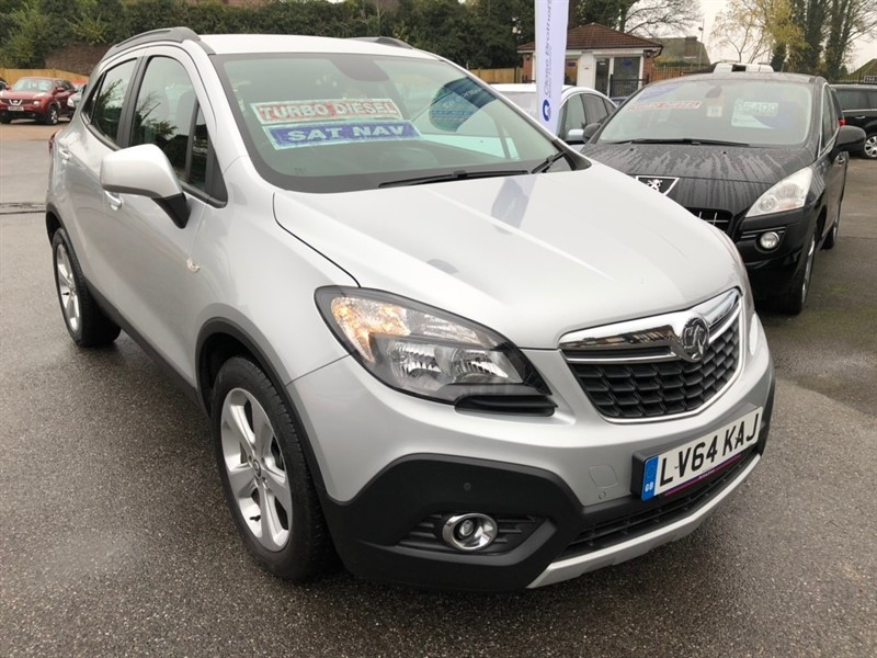 used Vauxhall Mokka CDTi ecoFLEX Tech Line FWD (s/s) 5dr in rochester-kent