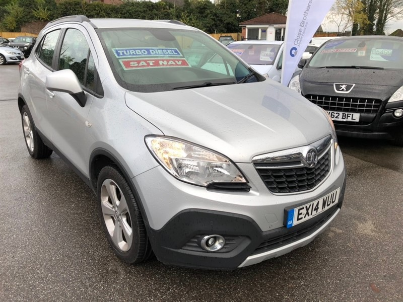 used Vauxhall Mokka CDTi 16v Tech Line 4x4 (s/s) 5dr in rochester-kent