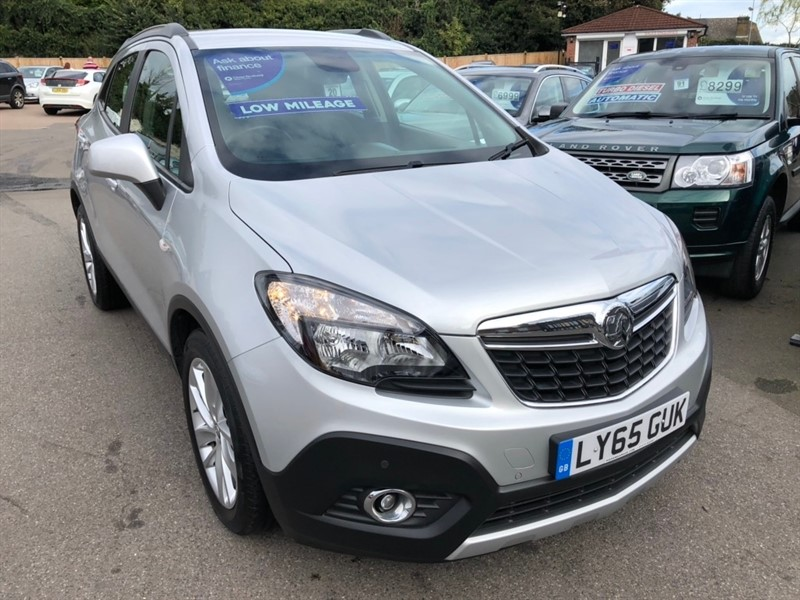 used Vauxhall Mokka i Exclusiv (s/s) 5dr in rochester-kent