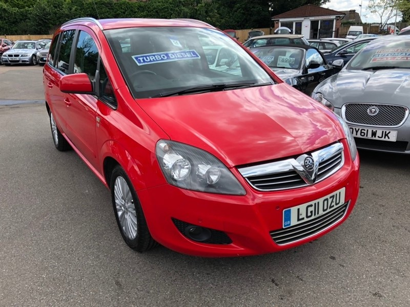 used Vauxhall Zafira TD Excite 5dr in rochester-kent