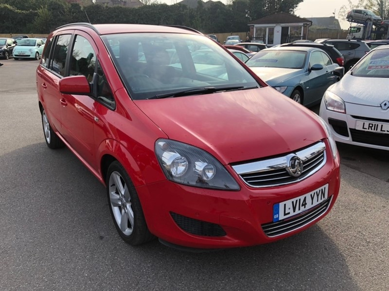 used Vauxhall Zafira TD ecoFLEX 16v Exclusiv 5dr in rochester-kent