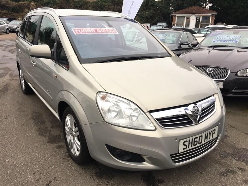 used Vauxhall Zafira CDTi ecoFLEX 16v Elite 5dr in rochester-kent