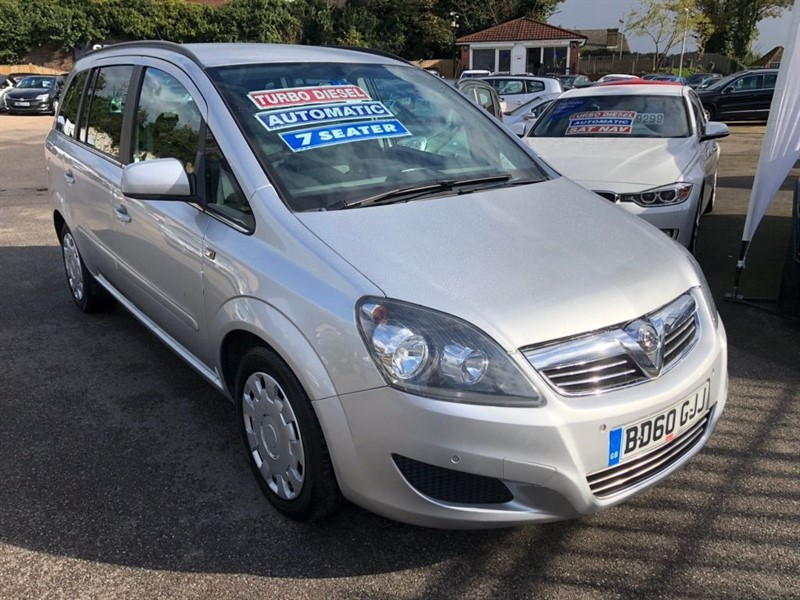 used Vauxhall Zafira CDTi Exclusiv 5dr in rochester-kent