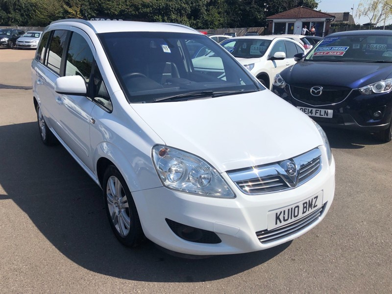used Vauxhall Zafira Elite in rochester-kent