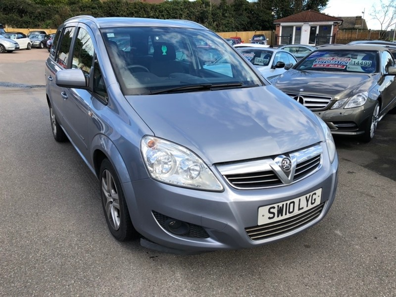 used Vauxhall Zafira i Energy 5dr in rochester-kent