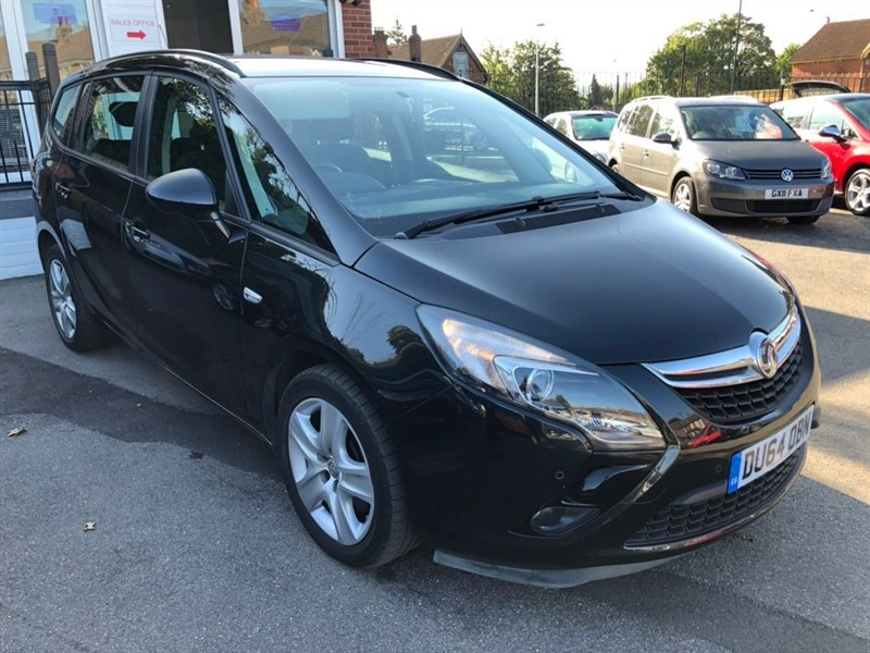 used Vauxhall Zafira Tourer CDTi 16v Exclusiv 5dr in rochester-kent