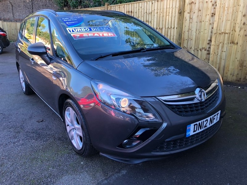 used Vauxhall Zafira Tourer CDTi ecoFLEX 16v Exclusiv (s/s) 5dr in rochester-kent