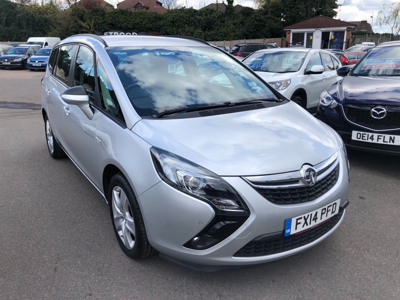 used Vauxhall Zafira Tourer 16v Turbo Exclusiv in rochester-kent
