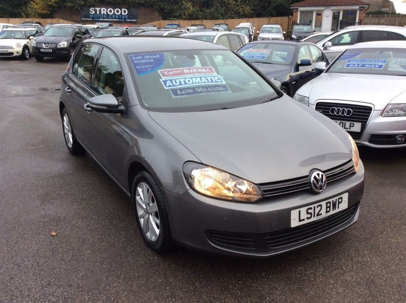 used VW Golf Match DSG in rochester-kent