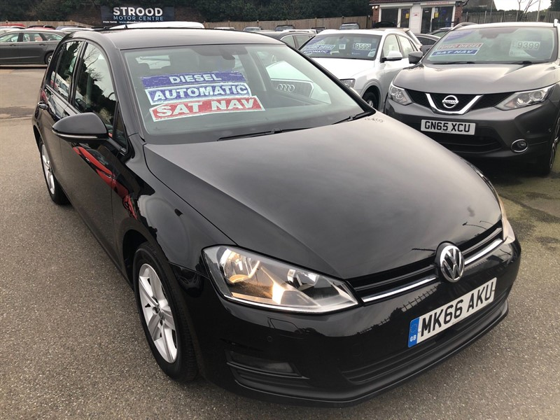 used VW Golf BlueMotion Tech Match Edition DSG (s/s) in rochester-kent