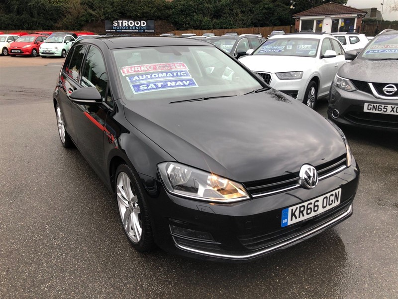 used VW Golf BlueMotion Tech GT Edition DSG (s/s) in rochester-kent