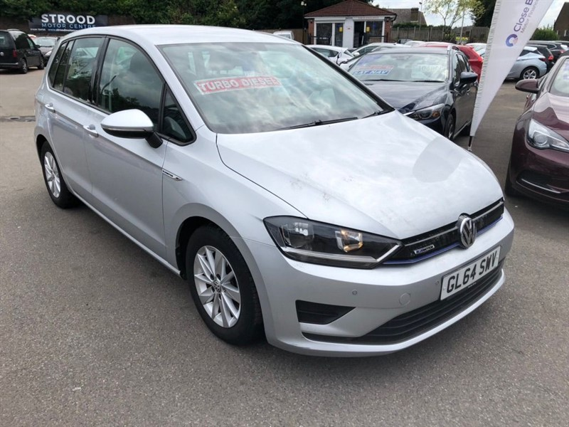 used VW Golf SV BlueMotion (s/s) EU5 in rochester-kent