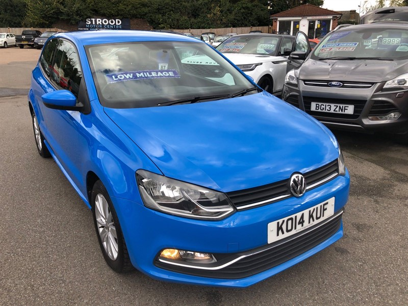 used VW Polo BlueMotion Tech SE (s/s) in rochester-kent