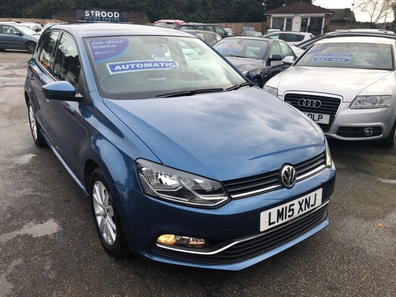 used VW Polo BlueMotion Tech SE DSG (s/s) in rochester-kent