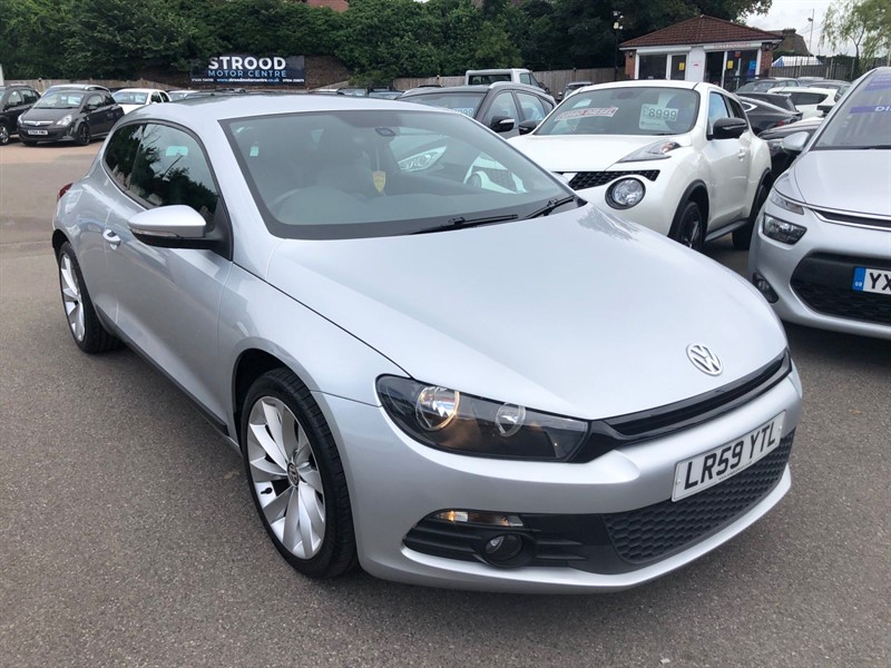 used VW Scirocco GT DSG in rochester-kent