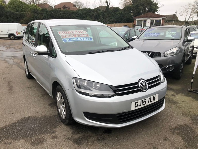 used VW Sharan BlueMotion Tech S DSG (s/s) in rochester-kent