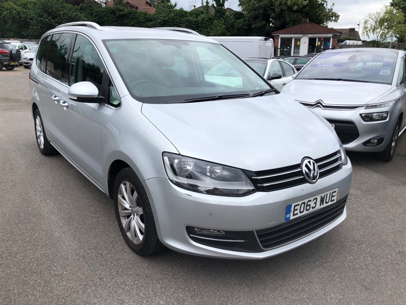 used VW Sharan BlueMotion Tech SEL (s/s) in rochester-kent
