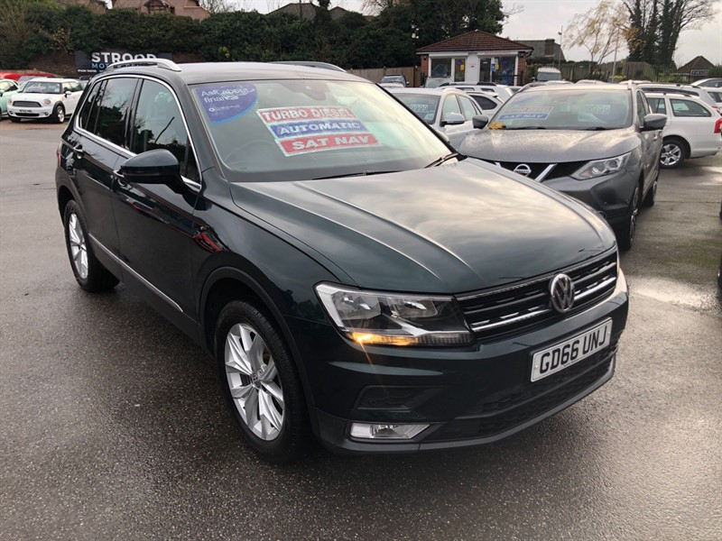 used VW Tiguan BlueMotion Tech SE Navigation DSG 4Motion (s/s) in rochester-kent