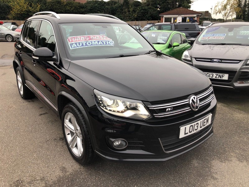 used VW Tiguan BlueMotion Tech R-Line DSG 4MOTION in rochester-kent