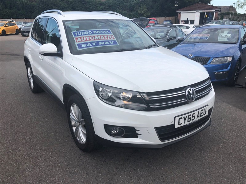 used VW Tiguan BlueMotion Tech Match Edition DSG 4MOTION (s/s) in rochester-kent