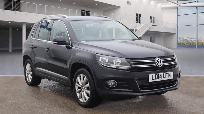 used VW Tiguan BlueMotion Tech Match DSG 4WD (s/s) in rochester-kent