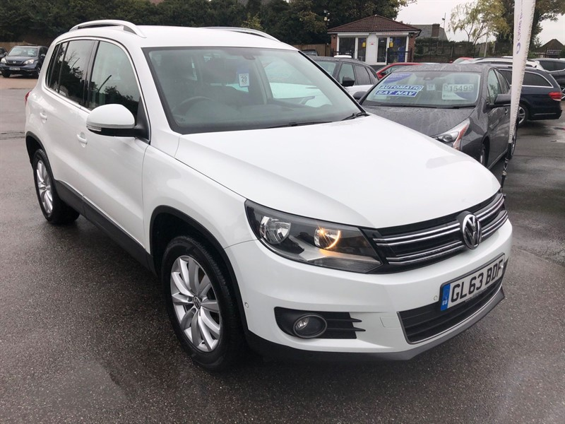 used VW Tiguan BlueMotion Tech Match 4MOTION (s/s) in rochester-kent