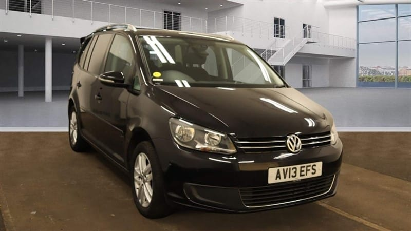 used VW Touran SE DSG (7 Seat) in rochester-kent