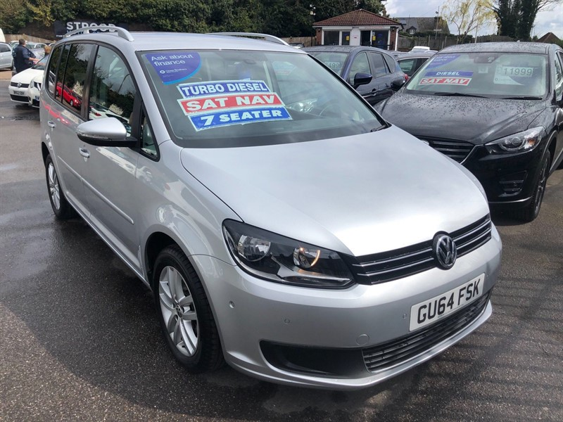 used VW Touran BlueMotion Tech SE (s/s) (7 Seats) in rochester-kent