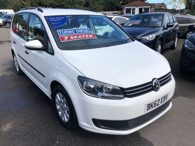 used VW Touran S (7 Seats) in rochester-kent