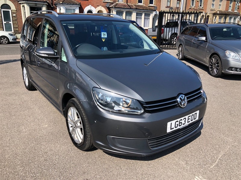 used VW Touran BlueMotion Tech SE DSG (7 Seat) in rochester-kent