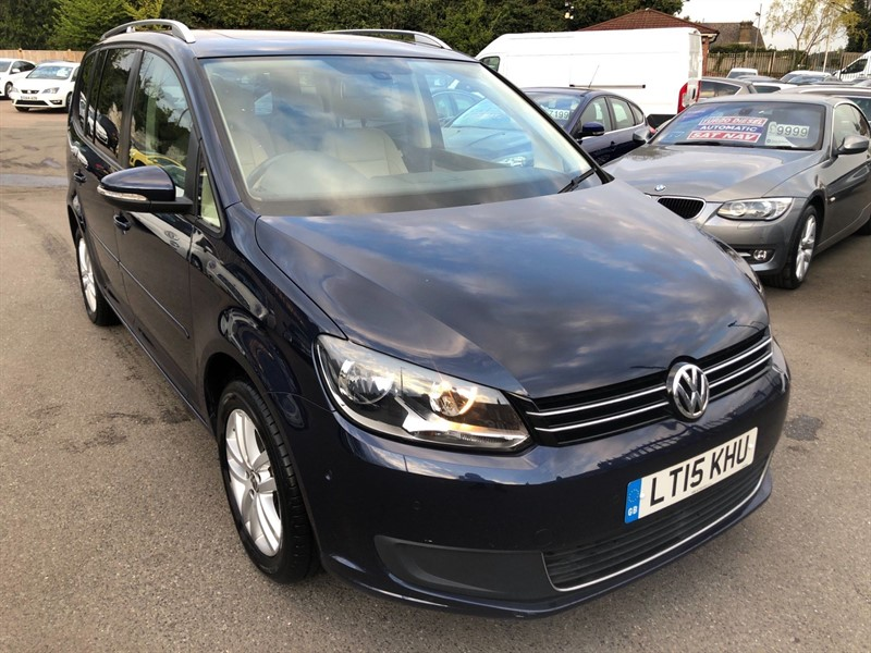 used VW Touran BlueMotion Tech SE DSG (7 Seats) in rochester-kent