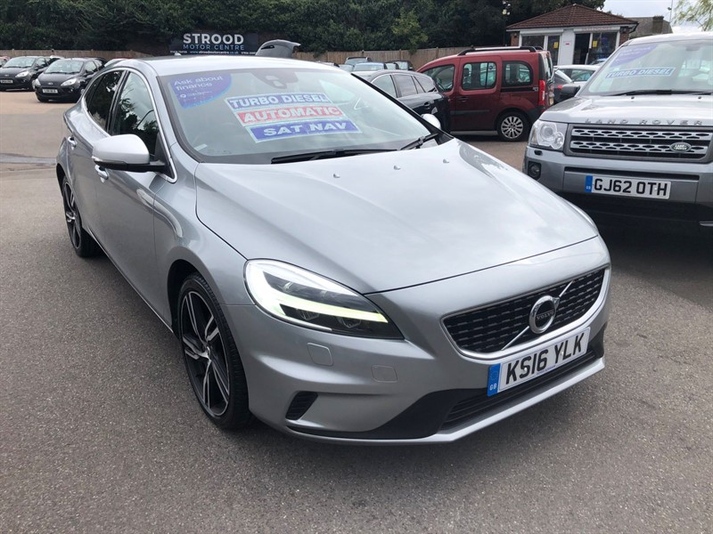 used Volvo V40 D2 R-Design Pro Auto (s/s) in rochester-kent