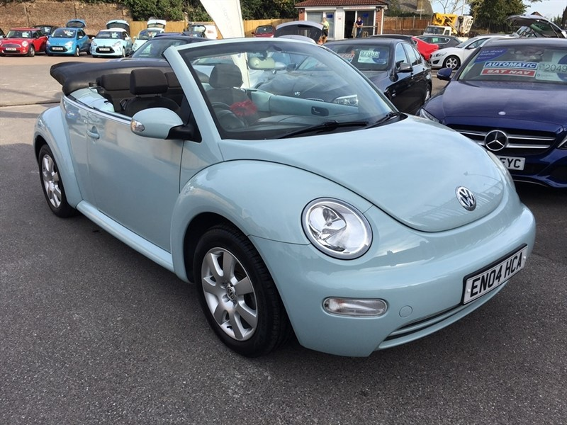 used VW Beetle Cabriolet 2dr in rochester-kent