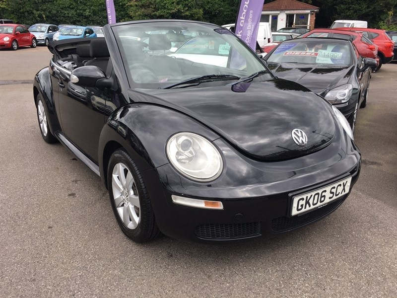 used VW Beetle Luna Cabriolet 2dr in rochester-kent