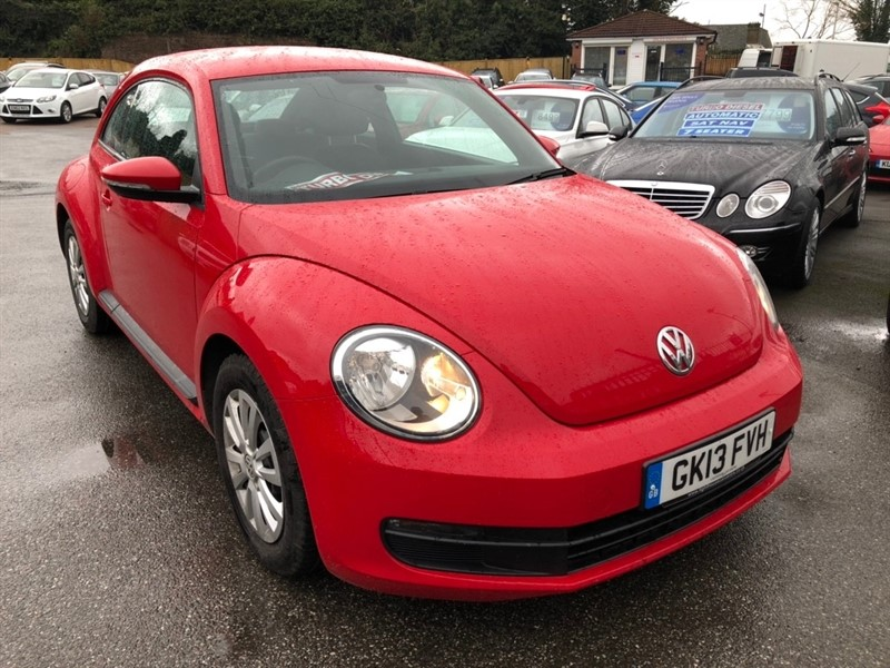 used VW Beetle TDI BlueMotion Tech 3dr in rochester-kent