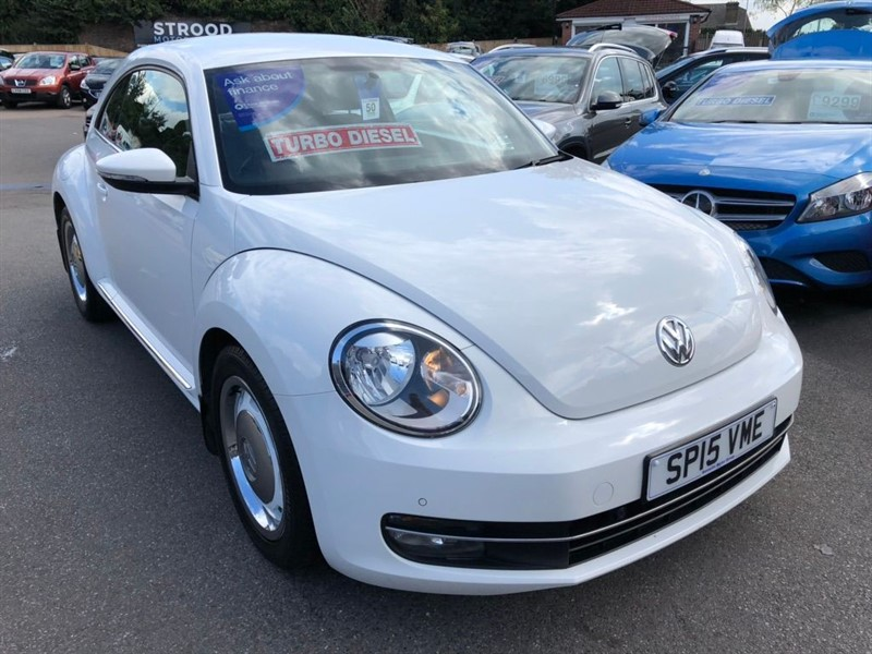 used VW Beetle TDI BlueMotion Tech Design 3dr in rochester-kent