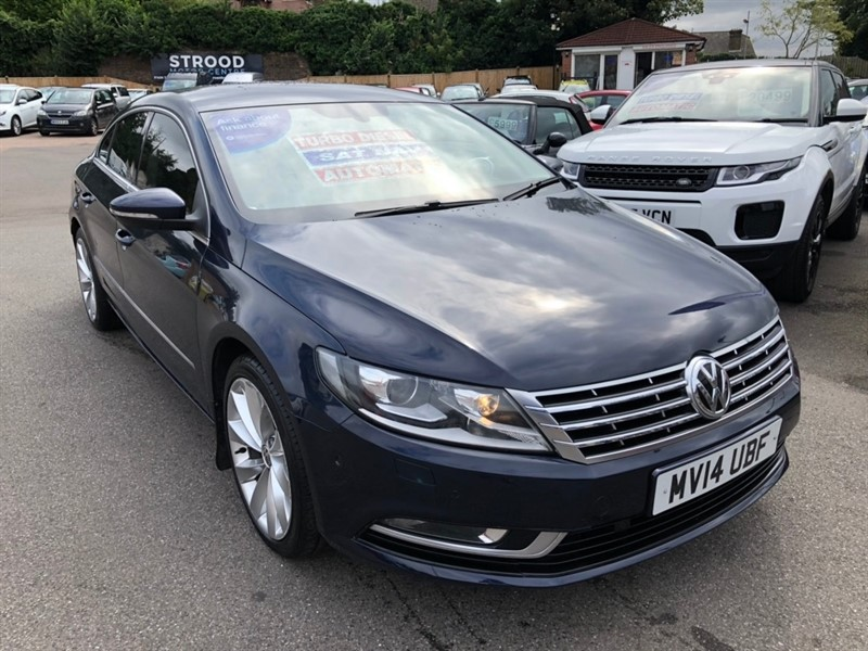 used VW CC TDI BlueMotion Tech GT DSG 4dr in rochester-kent