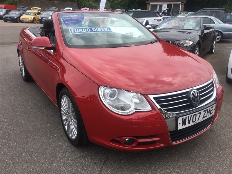 used VW Eos TDI Sport Cabriolet 2dr in rochester-kent
