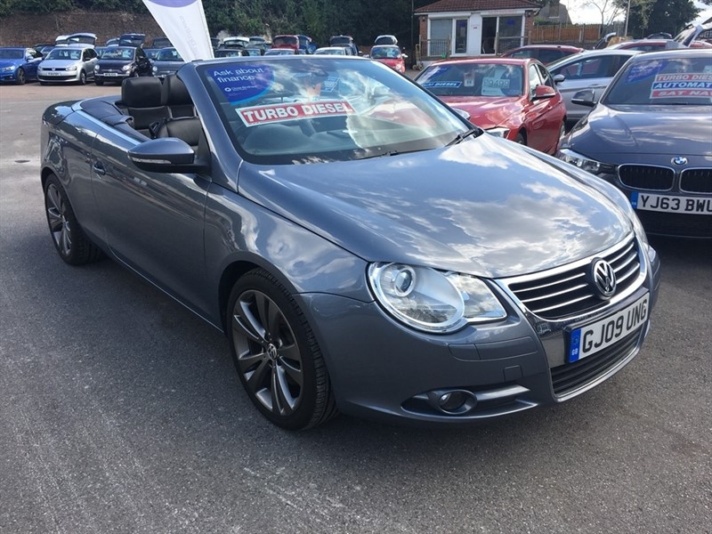 used VW Eos TDI CR Sport Cabriolet 2dr in rochester-kent