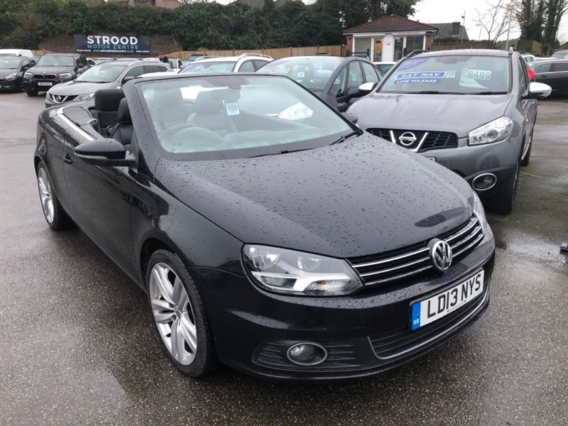 used VW Eos TSI Sport Cabriolet 2dr in rochester-kent