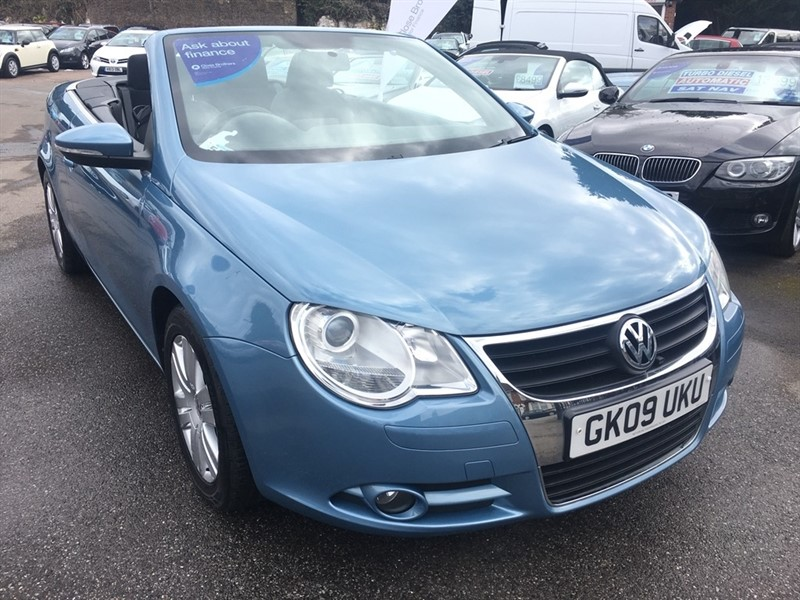 used VW Eos TSI S Cabriolet 2dr in rochester-kent