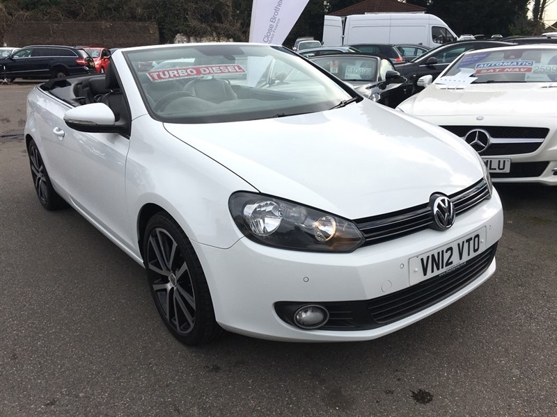 used VW Golf TDI BlueMotion Tech GT Cabriolet 2dr in rochester-kent