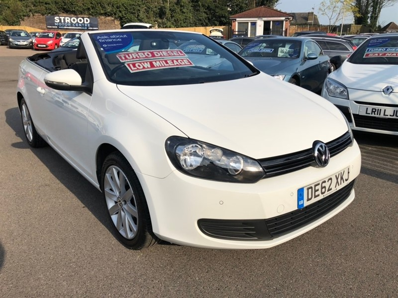 used VW Golf TDI BlueMotion Tech SE Cabriolet 2dr in rochester-kent