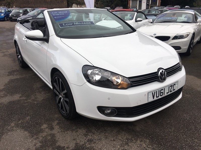 used VW Golf TSI GT Cabriolet 2dr in rochester-kent